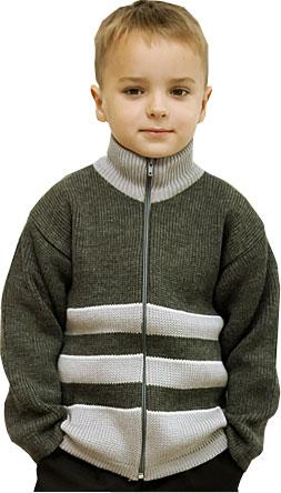 1114 Джемпер для мальчика на молнии