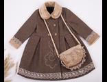 3118 Пальто с сумочкой / Caramel Collection