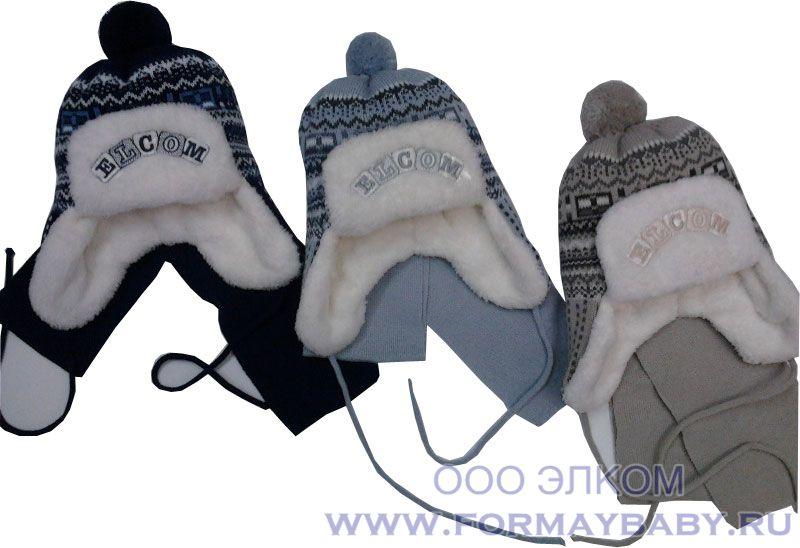 0440 шапочка+шарф (зима)